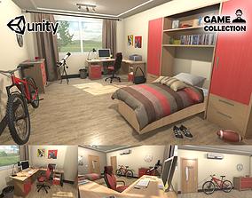 Teenage Bedroom 3D model