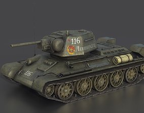 3D model T 34 76 1943 EARLY PRODUCTION