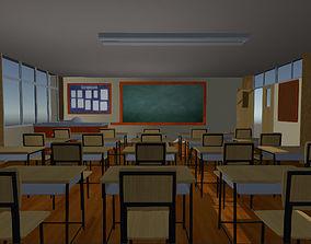 3D model Class Room