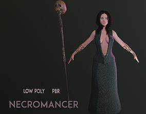 Necromancer Character 3D asset PBR