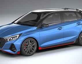 Hyundai i20 N 2021 3D
