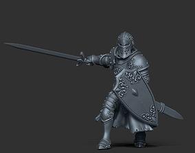 3D print model Paladin - Sir dorian 35mm scale