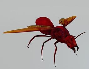 Horned Ant 3D model VR / AR ready