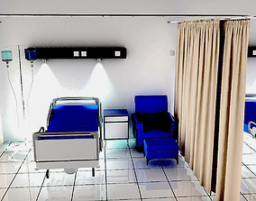 3D Hospital Ward
