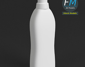 Detergent container 3 3D