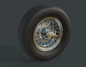 Austin Healey 300 MK3 Wheels 3D model