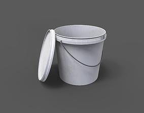 3D model PBR Paint Bucket
