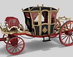 3D Baroque Coach