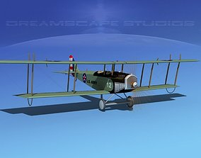Curtiss JN-2 Jenny V04 US Army 3D