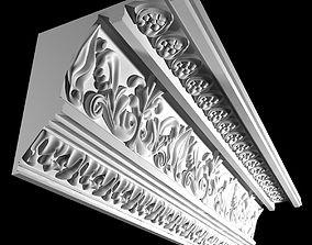 Big Classic Cornice 3D model
