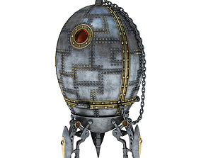 3D model Jewel box - Space Egg
