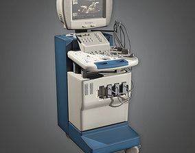 3D model HPL - Ultrasound Machine PBR Game Ready