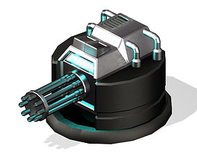 3D Satellite City Objects - Battery 17