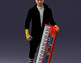 miniatures Musician synthesizer 0118 3D Print Ready