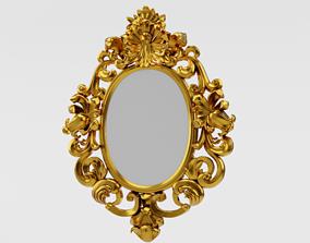 classic mirror 3D asset