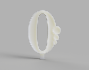3D printable model Birthday Candles Mould for Silicone 3