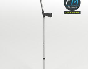 Elbow crutch 3D