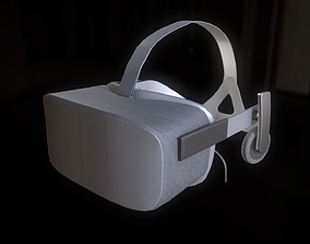 Oculus Rift Headset 3D model