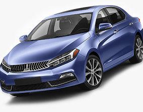 3D model Generic Compact Sedan