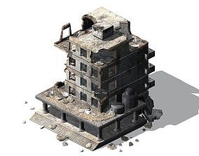 Different dimension - architecture - ruins 06 3D