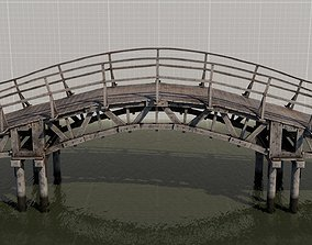 Japanese bridge 3D PBR