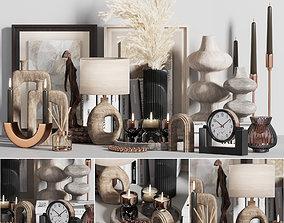3D model pampas decorative set 004