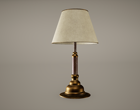 Desk Lamp Low poly Game Ready 3D asset