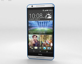 HTC Desire 820 Santorini White 3D
