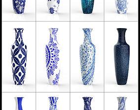3D model household Porcelain Vase