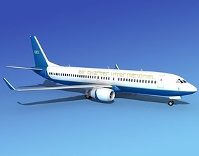 3D model Boeing 737-800 Air Charter Intl