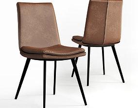 3D model Williamsburg Dining Chairs Tan