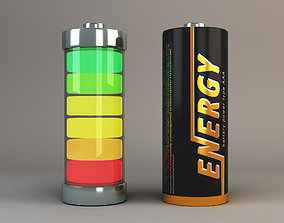 battery concept 3D model