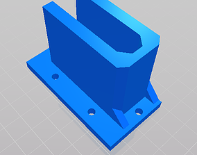Wire Shelving Wall Brackets 3D printable model