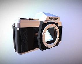 3D model Minolta X-300 Photo Camera
