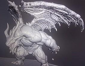 3D print model Dragonborn Brute dragon