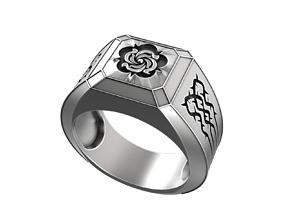 Devil May Cry Nero Rose ring 3D print model