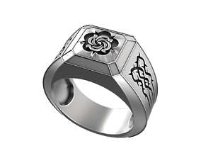 3D print model Devil May Cry Nero Rose ring