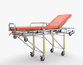 Stretcher medical 3D model