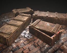 Military Crates 3D asset PBR