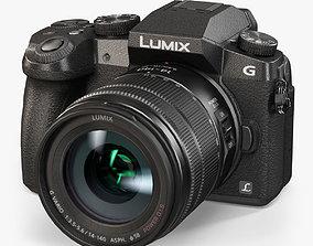Panasonic Lumix DMC-G7 mirrorless digital 3D asset 2