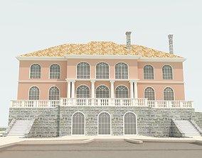 3D stayrcase Big house