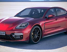 Porsche Panamera GTS 2019 3D