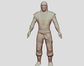 worrior ninja man 3D printable model