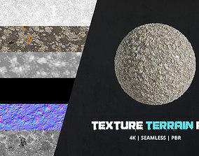 pebbles Texture Terrain 4k Pbr - 16bit - 06 3D model