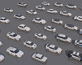 32 Vehicle Pack V1 3D asset