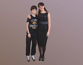 3D No122 - Mother and Son