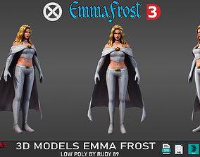 Emma Frost 3D model