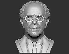 Bernie Sanders bust 3D printing ready stl obj formats