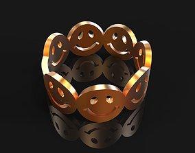 Emoji ring 3d print