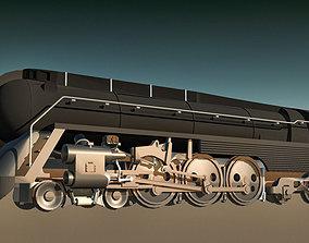 train 3D model Locomotive